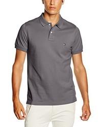 Camisa polo gris de Tommy Hilfiger