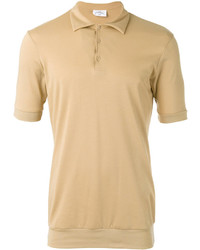 Camisa polo marrón claro