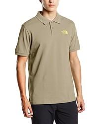 Camisa polo marrón claro de The North Face