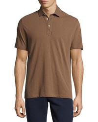 Camisa polo marrón