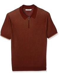Camisa polo marrón de Ben Sherman