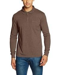 Camisa polo marrón de Daniel Hechter