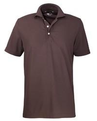Camisa polo marrón de Jeff Green