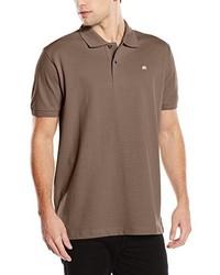 Camisa polo marrón de LERROS