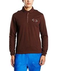 Camisa polo marrón de Oxbow