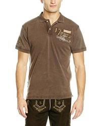 Camisa polo marrón de Stockerpoint