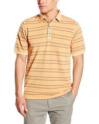 Camisa polo naranja de Casamoda