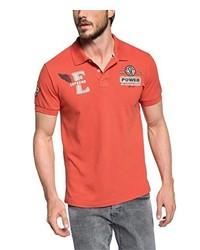 Camisa polo naranja de Esprit