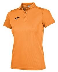 Camisa polo naranja de Joma