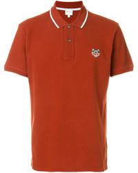 Camisa polo naranja de Kenzo