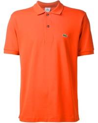 Camisa Polo Naranja de Lacoste