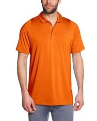 Camisa polo naranja de Puma
