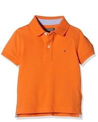 Camisa polo naranja de Tommy Hilfiger