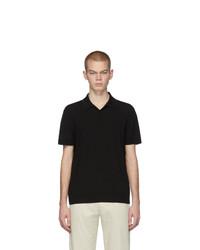 Camisa polo negra de Bottega Veneta