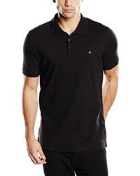 Camisa polo negra de Calvin Klein