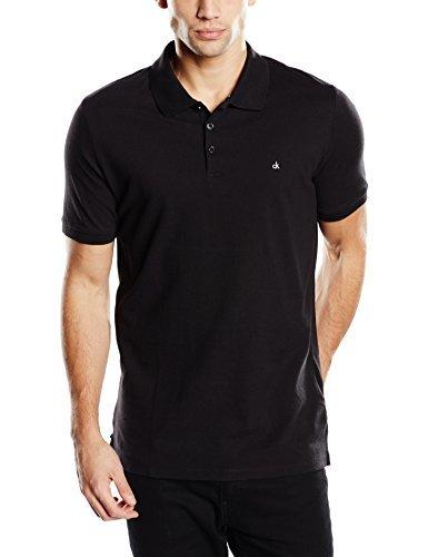 02f37707f69 Camisa Polo Negra de Calvin Klein  dónde comprar y cómo combinar