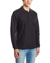 Camisa polo negra de Fruit of the Loom