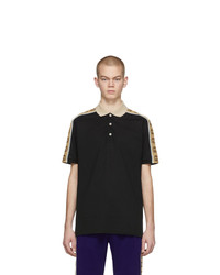 Camisa polo negra de Gucci