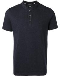 Camisa polo negra de Hugo Boss
