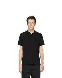 Camisa polo negra de Jil Sanderand