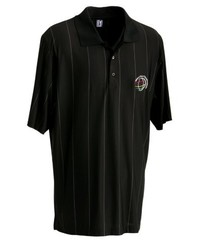 Camisa polo negra de PGA
