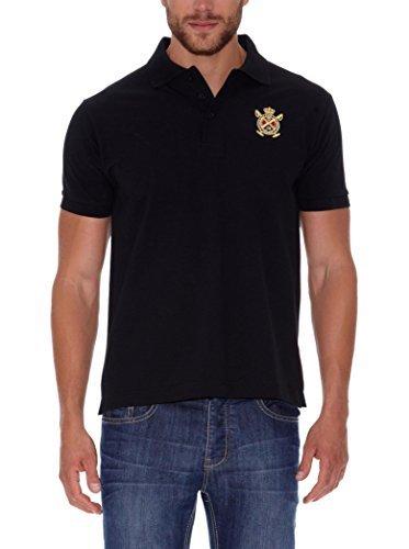 10f562e93ace1 Camisa Polo Negra de Polo Club  dónde comprar y cómo combinar