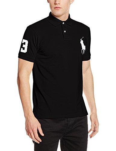 c9893e8edb2bf ... Camisa polo negra de Polo Ralph Lauren ...