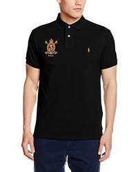 e96f5ed5d Camisa polo negra de Polo Ralph Lauren, €76 | Amazon.es | Lookastic ...