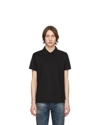 Camisa polo negra de Saint Laurent