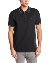 Camisa polo negra de Selected