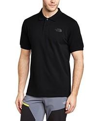 Camisa polo negra de The North Face