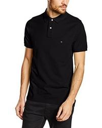 Camisa Polo Negra de TOMMY HILFIGER MENSWEAR