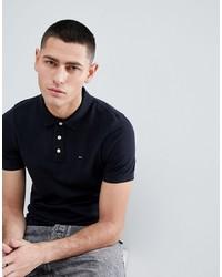 Camisa polo negra de Tommy Jeans