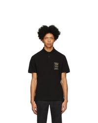 Camisa polo negra de VERSACE JEANS COUTURE