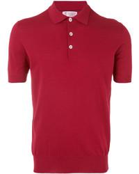 Camisa polo roja de Brunello Cucinelli