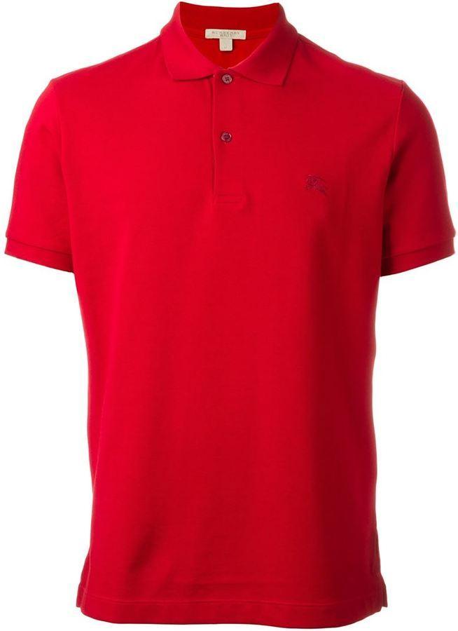719b6c0ad ... Camisa polo roja de Burberry