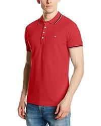 Camisa polo roja de Diesel