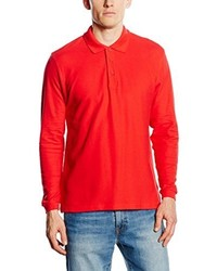 Camisa polo roja de Fruit of the Loom