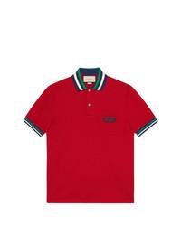 Comprar una camisa polo roja Gucci  168aa7628a3