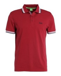 Camisa Polo Roja de Hugo Boss