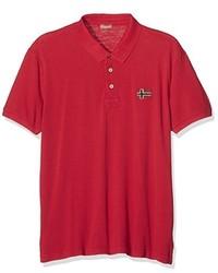 Camisa polo roja de Napapijri