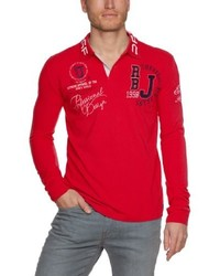 Camisa Polo Roja de Redbridge