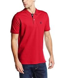 Camisa polo roja de Selected