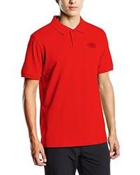 Camisa polo roja de The North Face