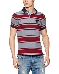 Camisa polo roja de Tommy Hilfiger