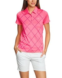 Camisa polo rosa de 2117 of Sweden
