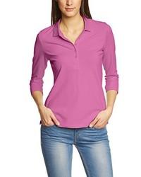 Camisa polo rosa de Eddie Bauer