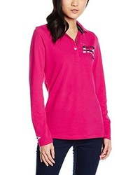 Camisa polo rosa de Gaastra
