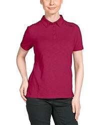 Camisa polo rosa de Jack Wolfskin