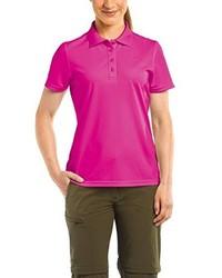 Camisa polo rosa de maier sports